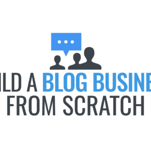 Logo for the Course Build a Blog Business from Scratch