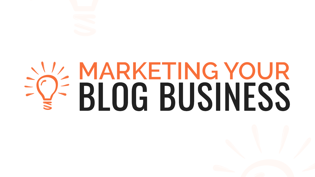 Logo for the Course Marketing Your Blog Business