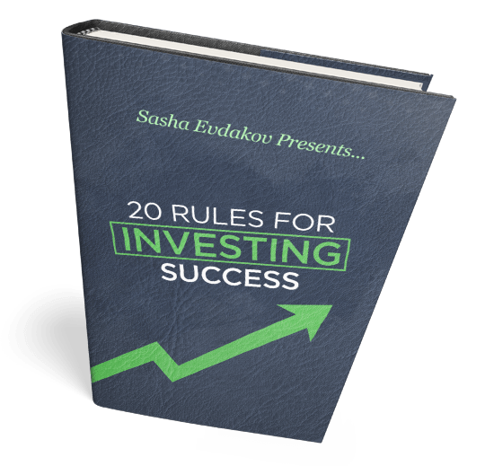 Book by Sasha Evdakov: 20 Investing Success Rules