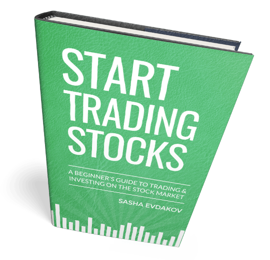 Book by Sasha Evdakov: A Beginner's Guide to Trading and Investing Stock Market