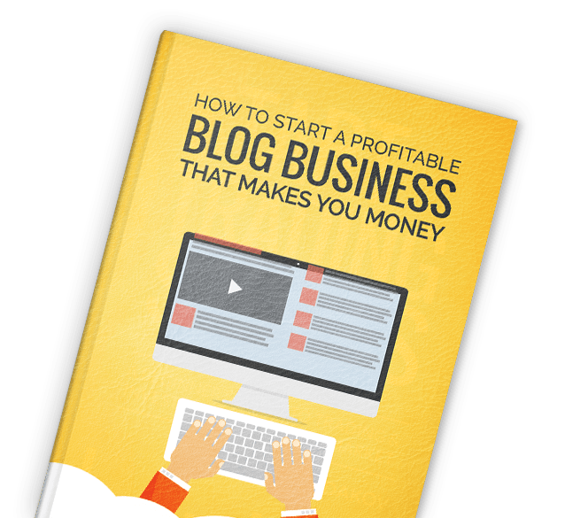 Book by Sasha Evdakov: Start a Profitable Blog Business Layflat Thumbnail