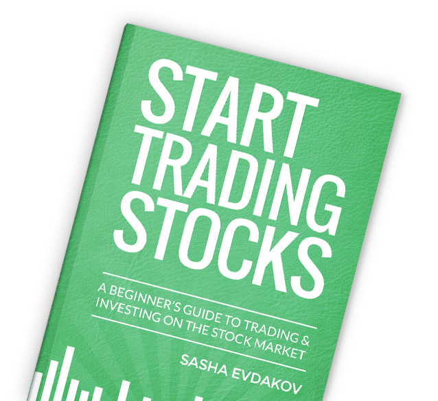 Book by Sasha Evdakov: Beginner's Guide to Trading & Investing Stock Market Layflat Thumbnail