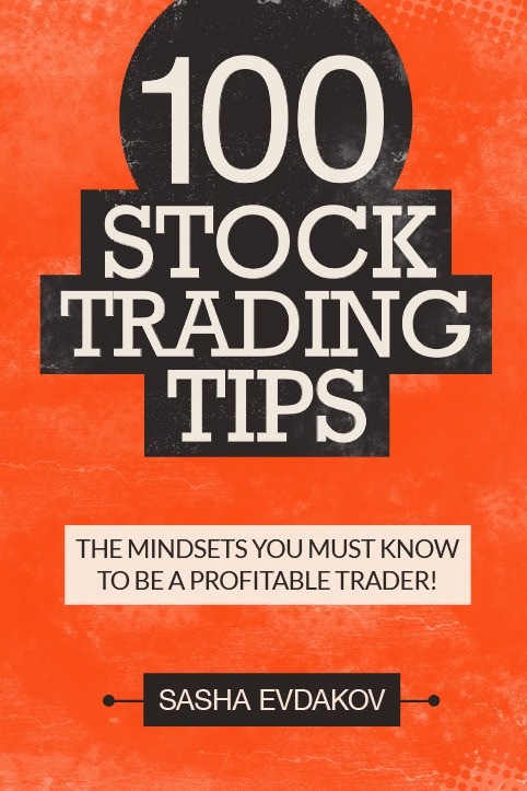 Book by Sasha Evdakov: 100 Stock Trading Tips Bookcover