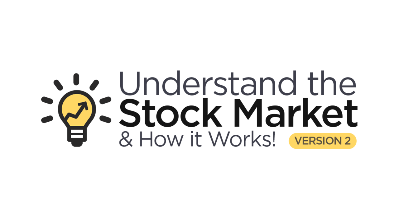 Understand the Stock Market & How it Works v2 Logo