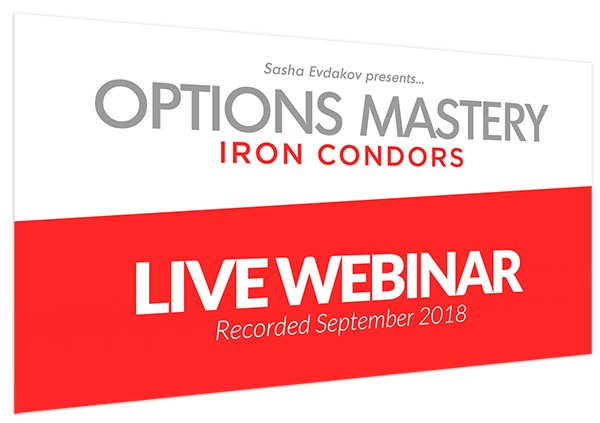 Iron Condor Options Mastery Live Webinar Thumbnail