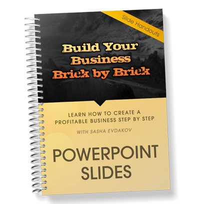 Build Your Business Brick by Brick Course Thumbnail for PowerPoint Slides