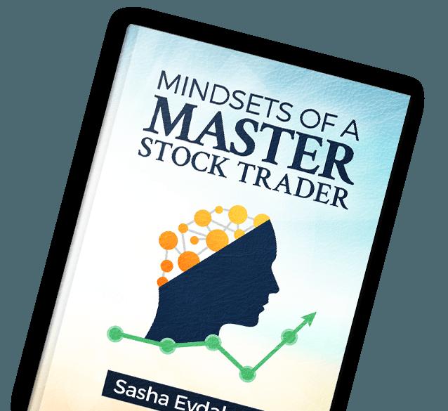 Book by Sasha Evdakov: Mindsets of a Master Stock Trader Layflat