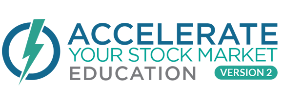 Accelerate Your Stock Market Education Logo