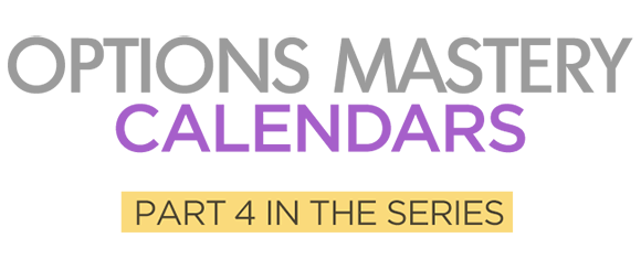 Calendars Options Mastery Course Logo