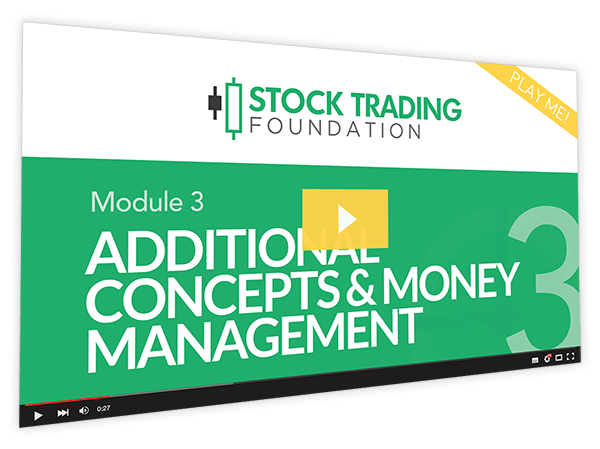 Stock Trading Foundation Course Thumbnail for Module 3 Additional Concepts & Money Management