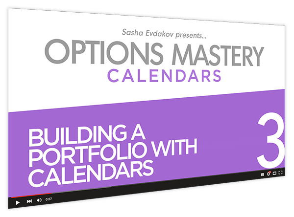 Calendars Options Mastery Course Thumbnail for Module 3 Building a Portfolio with Calendars
