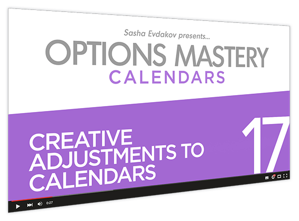 Calendars Options Mastery Course Thumbnail for Module 17 Creative Adjustments to Calendars
