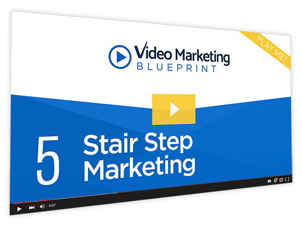 Video Marketing Blueprint Course Thumbnail for Module 5 -Stair Step Marketing