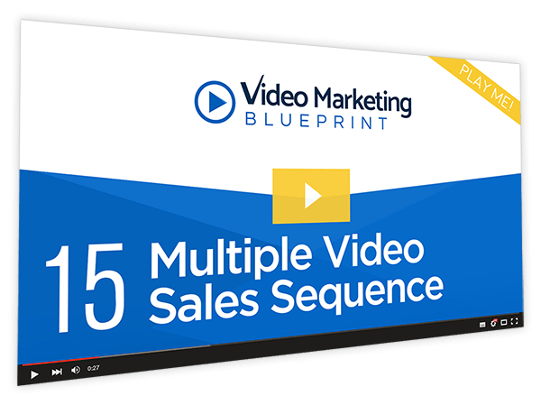 Video Marketing Blueprint Course Thumbnail for Module 15 - Multiple Video Sales Sequence