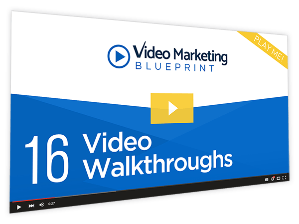 Video Marketing Blueprint Course Thumbnail for Module 16 - Video Walkthroughs
