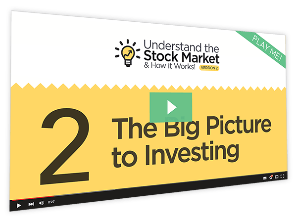 Understanding the Stock Market and How it Works v2 Course Thumbnail for Module 2 - The Big Picture to Investing