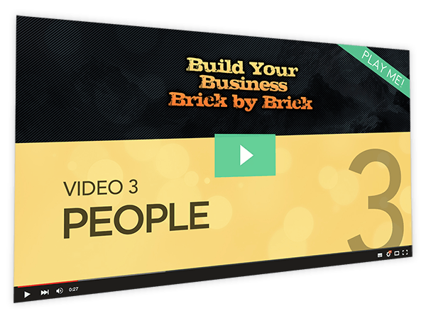 Build Your Business Brick by Brick Course Thumbnail for Module 3 People