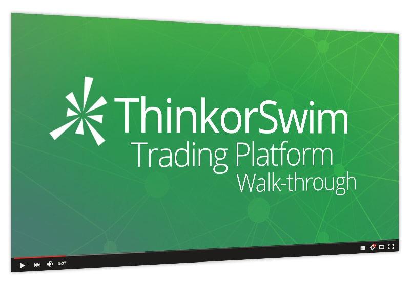 ThinkorSwim Trading Platform Walk-through