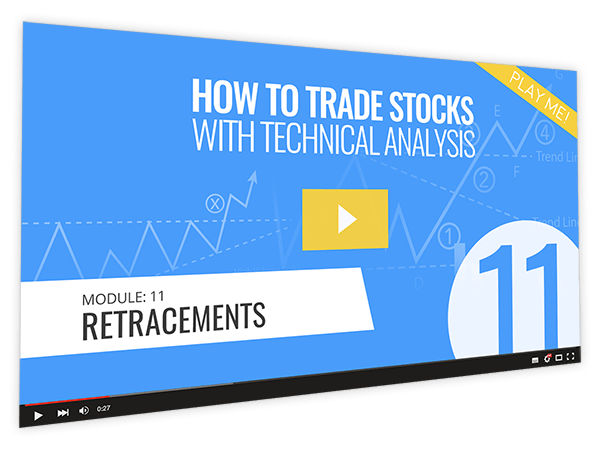 How to Trade Stocks with Technical Analysis Course Thumbnail for Module 11 Retracements