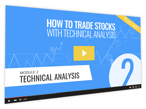 How to Trade Stocks with Technical Analysis Course Thumbnail for Module 2 Technical Analysis
