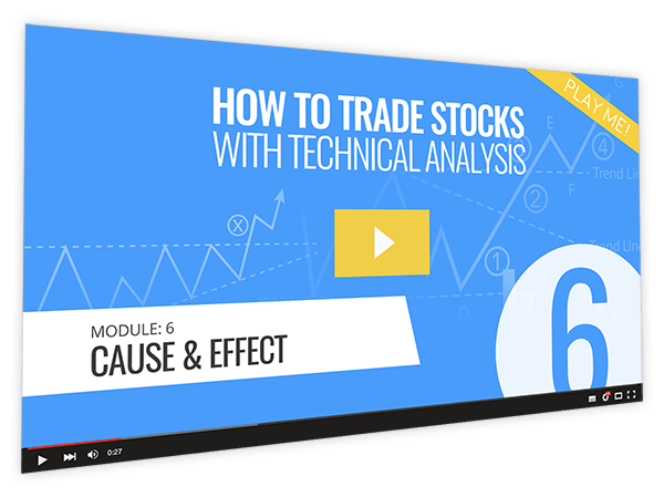 How to Trade Stocks with Technical Analysis Course Thumbnail for Module 6 Cause & Effect