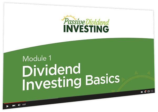 Passive Dividend Investing Course Thumbnail for Module 1 Dividend Investing Basics